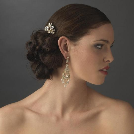 Elegance by Carbonneau Silver Or Gold Rhinestone Pin Hair Accessory Image 3