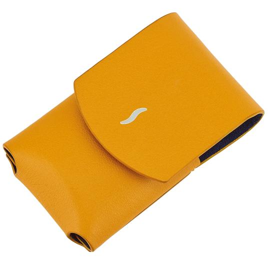 S.T. Dupont S.T. Dupont Yellow Leather Case For Minijet Lighter 183053 Image 1