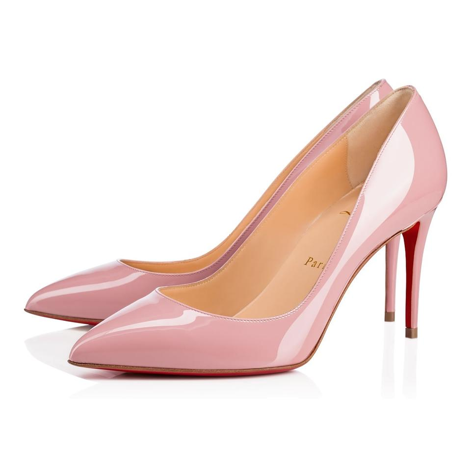 0da260a02 Christian Louboutin Pink Classic Pigalle Follies 85mm Voile Patent Leather  Point-toe Pumps