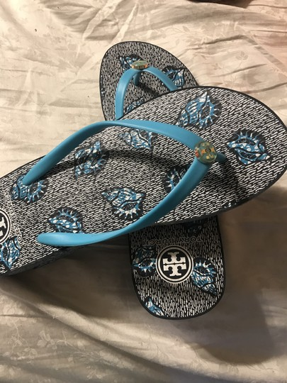 Tory Sport by Tory Burch Blue Sandals Image 1