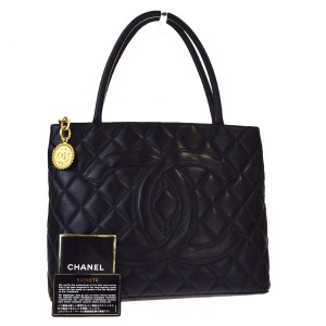 chanel second products the collection hand fifth medallion bag tote