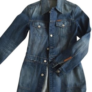 7 For All Mankind washed denim Womens Jean Jacket