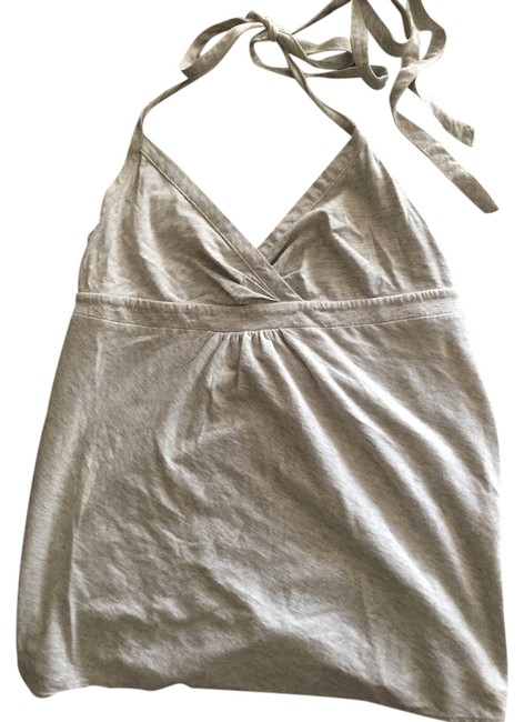 Theory heather gray Halter Top