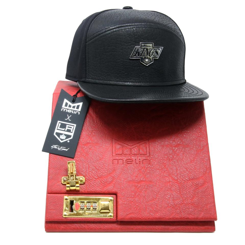 more photos save off pretty nice Melin Brand (Headwear) Black L Limited Edition 50 Years L.a Kings Napa  Leather Diamond Set Strapback Hat