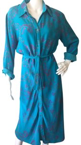 blue Maxi Dress by Tracy Feith