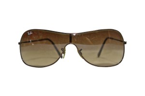 Ray-Ban Pre-Owned Ray Ban Vintage Aviator Sunglasses Brown Fade