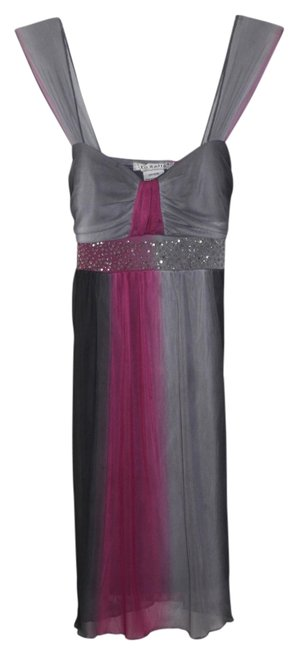 Preload https://item2.tradesy.com/images/la-belle-pinks-and-grays-above-knee-short-casual-dress-size-8-m-2351941-0-0.jpg?width=400&height=650