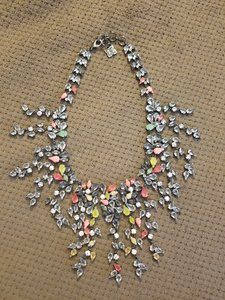 BCBGMAXAZRIA Garden Floral Statement Necklace
