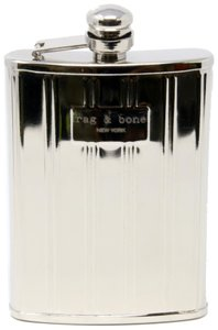Rag & Bone Stainless Steel Limited Edition 2012 Holiday Gift Collection Flask