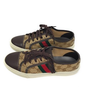 Gucci Brown Red Athletic