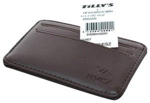 RVCA RVCA Leather Card Wallet - New