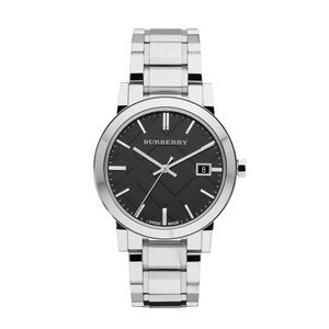 Burberry BU9001 Large Check Stainless Steel Bracelet Watch
