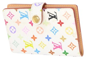 Louis Vuitton Louis Vuitton White Multicolor Monogram Agenda Mini Address Book