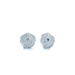 Tiffany & Co. Knot twisted earrings
