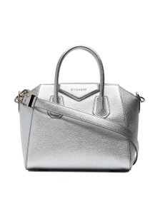 Givenchy Antigona Top Handle Tote Metallic Shoulder Bag