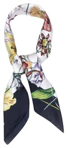 Gucci Floral Infinity Print Silk Square Scarf