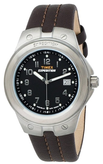 Timex Timex Male Expedition Watch T49631 Brown Analog