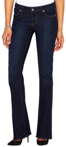 Paige 26 Wash Boot Cut Jeans-Dark Rinse