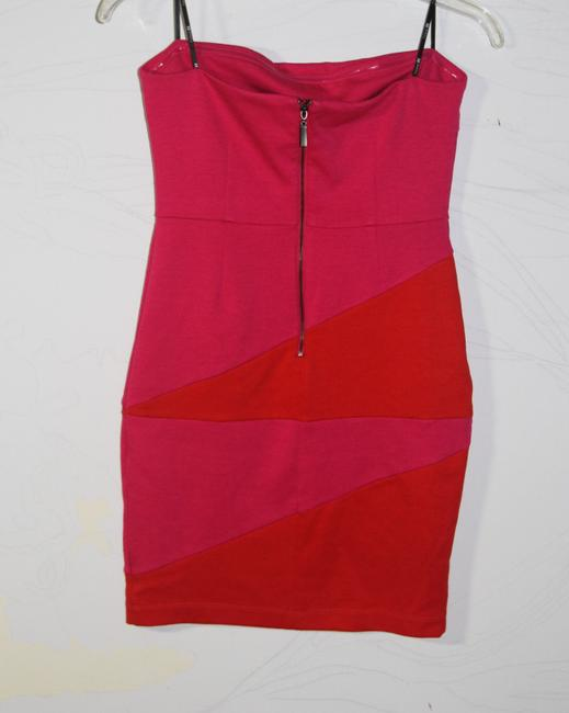 Forever 21 short dress Pink/Red on Tradesy