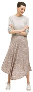 Anthropologie Knit Vanessa Parque Maxi Skirt PINK + MULTI