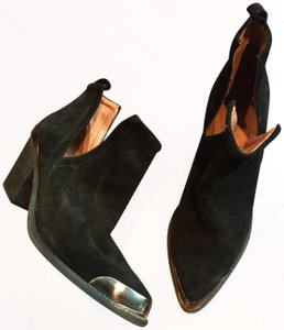 Jeffrey Campbell Ankle Suede black Boots