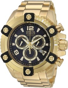 Invicta Gold Men's Reserve 56mm Grand Octane Swiss 15827 Watch