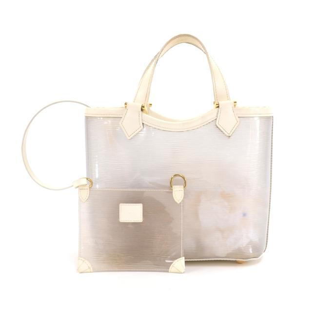 Item - Plage Lagoon Pm White Vinyl Beach Bag
