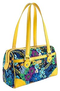 Vera Bradley Caroline New With Tags Satchel in Midnight Blues