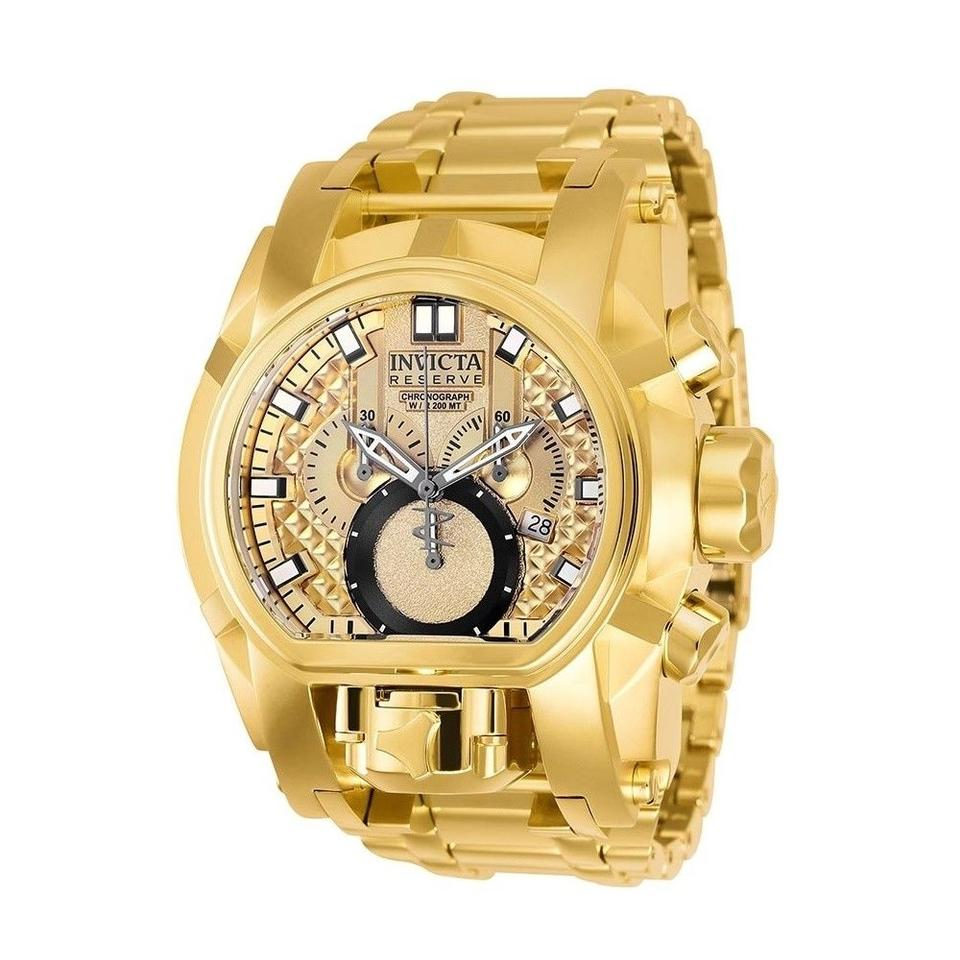 1ee9ecb018ec Invicta INVICTA Men s Reserve Bolt Zeus Gold Metal Watch 25210 Image 0 ...