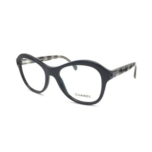 Chanel Black Lace Butterfly Rx Eyeglasses Frame 3299 501