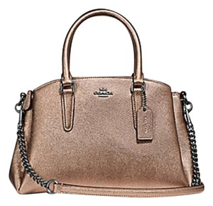 3ade48b32b8c Coach Madison 36718 Christie Carryall Satchel in gold