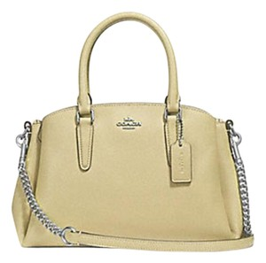 fcd759671620 Coach Madison 36718 Christie Carryall Satchel in yellow