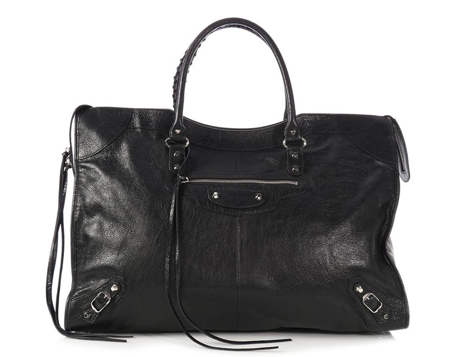 84ef11944241 Balenciaga Classic City Bg.p0504.19 Reduced Priced Satchel in Black Image 0  ...