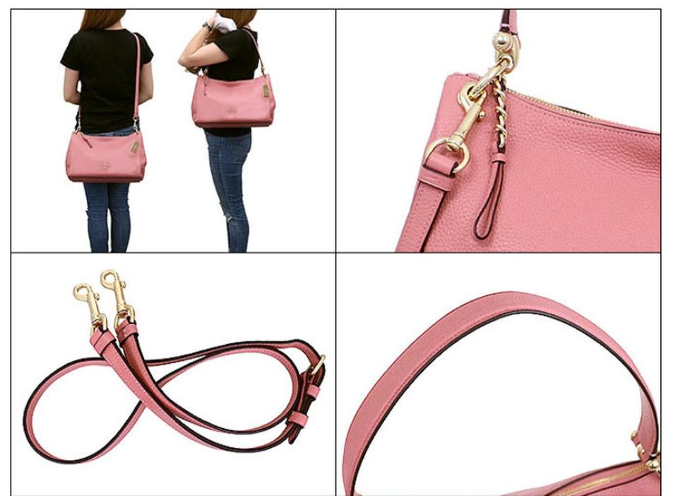 62d7b9e98dfdf Coach Shoulder F28966 Pink Leather Hobo Bag - Tradesy