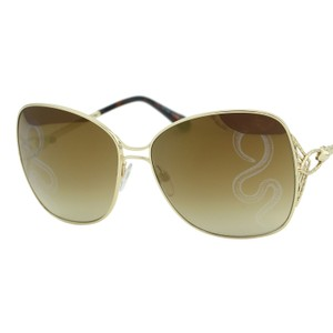 Roberto Cavalli New 2018 Gambassi Rc-1060 Women Square Metal Snake Mirror Sunglasses