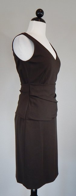 Akris Punto Draped Sheath Knit Dress Image 2