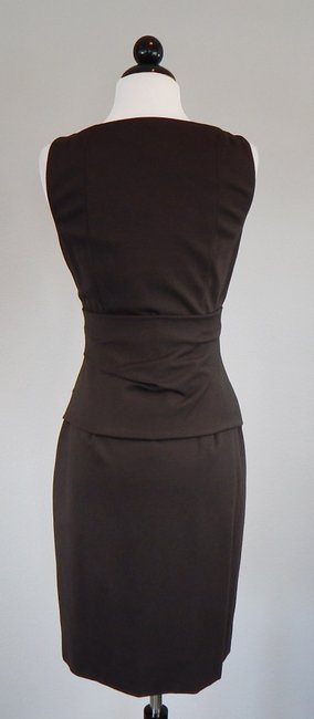 Akris Punto Draped Sheath Knit Dress Image 3