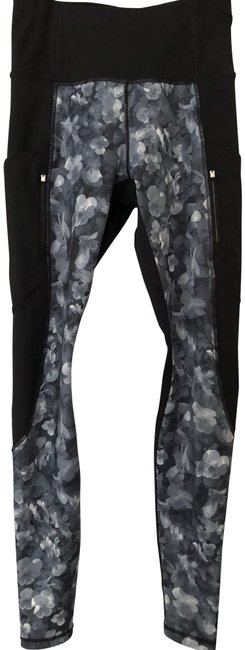 Item - Black/White/Grey Frost High Rise Traverse Tight Activewear Bottoms Size 2 (XS, 26)