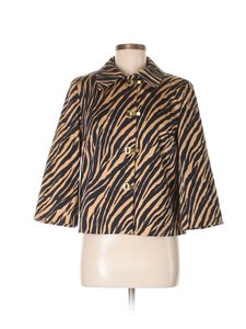 Doncaster Tiger Eclectic Out Of The Ordinary Tan Jacket