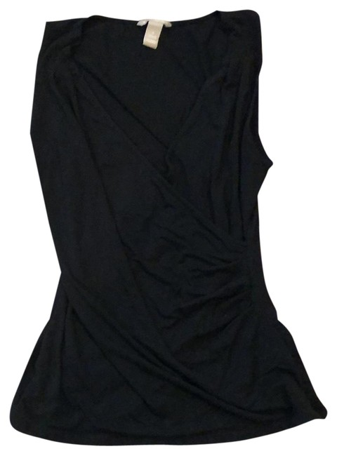 Preload https://img-static.tradesy.com/item/23523667/banana-republic-black-wrap-front-tunic-size-6-s-0-1-650-650.jpg