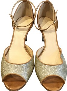 7e177487a441 J.Crew Tan Leather with Gold Metallic Sandals