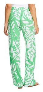 Lilly Pulitzer Boom Boom For Target Palazzo Relaxed Pants Green