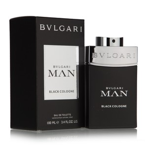 BVLGARI BULGARI MAN BLACK COLOGNE 3.4 oz / 100 ml EDT Spray for men,New