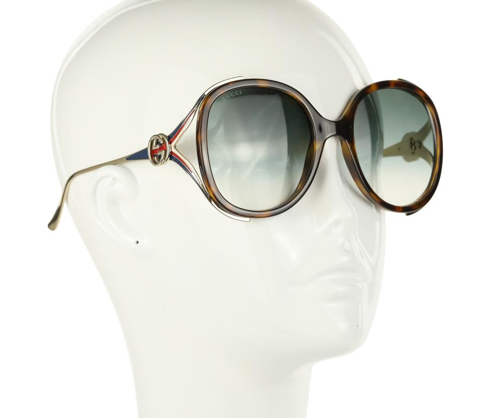 88478a219f7 Gucci Round Frame Injected Sunglasses Image 9. 12345678910
