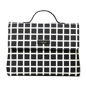 Kate Spade Shore Street Lita Large Checker Print Cosmetic Bag