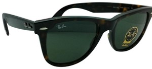 Ray-Ban New Ray-Ban Sunglasses RB 2140 902 54-18 WAYFARER Tortoise w/Green