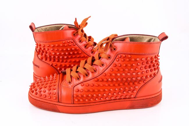 Item - * Red Louis Flat Calf/Specchio/Spikes Shoes