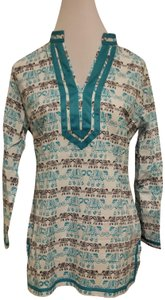 Tracy Negoshian Elephants Tunic