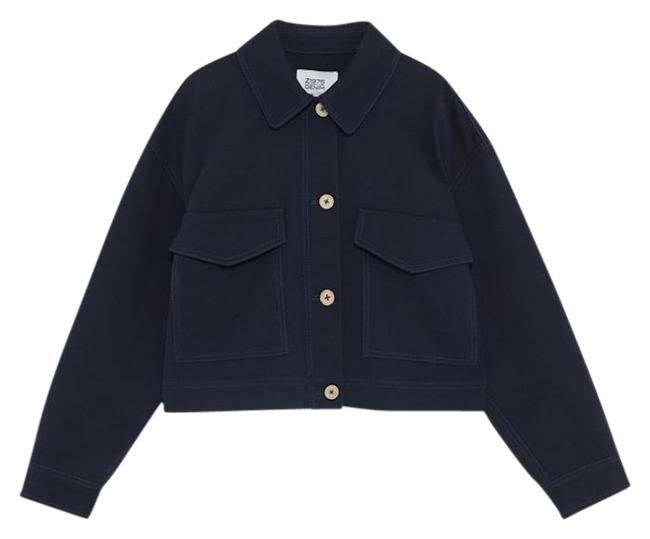 Item - Navy Cropped With Jacket Size 8 (M)