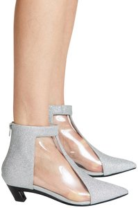 Jeffrey Campbell pvc/clear/sikver Boots